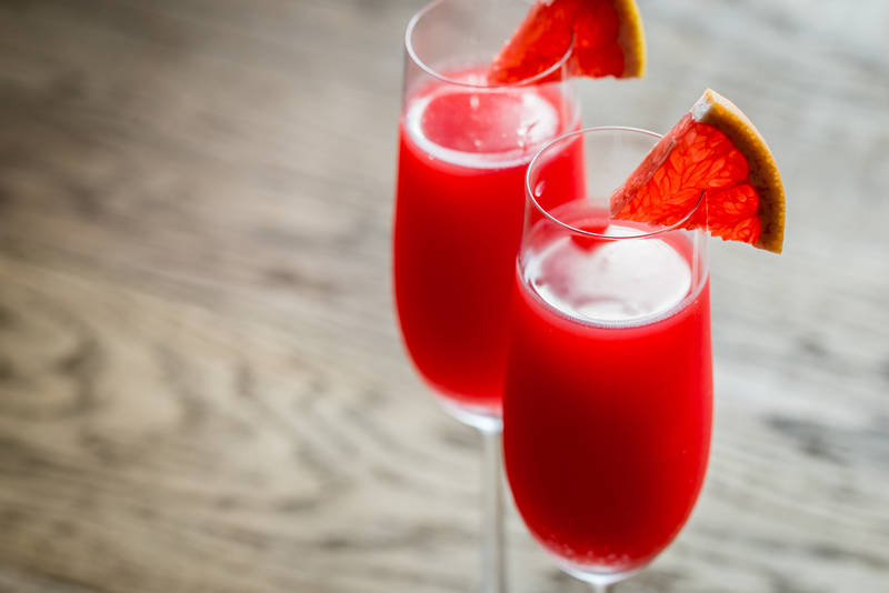 Make Your Own Mimosa Side Bar